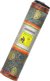 Благовоние Aquarius Zodiac Incense (Водолей), 37 палочек по 17,5 см.