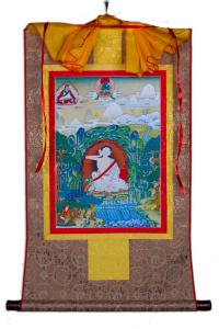 Тханка Миларепа (печатная, 51 х 83 см).