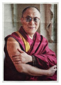 """Панно """"Далай-Лама"""" (43 x 61 см)."""