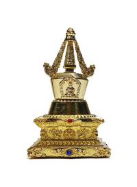 Купить Ступа паринирваны (7,5 см) (уценка) в интернет-магазине Dharma.ru