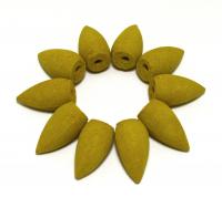 Стелющееся конусное благовоние Лотос (10 конусов по 2,5 см).