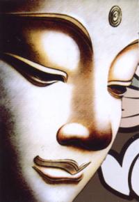 """Магнит """"Будда"""" (№1) (5 x 7,5 см)."""