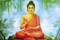 """Магнит """"Будда"""" (№3) (5 x 7,5 см)."""