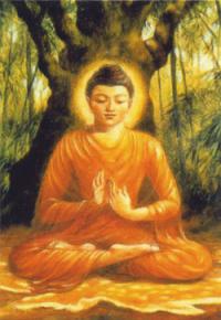 """Магнит """"Будда"""" (№4) (5 x 7,5 см)."""