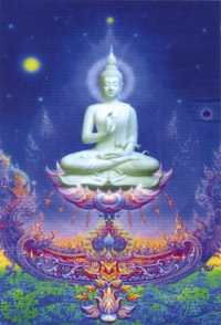 """Магнит """"Будда"""" (№6) (5 x 7,5 см)."""