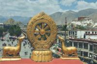 """Магнит """"Тибет"""" (№9) (5 x 7,5 см)."""