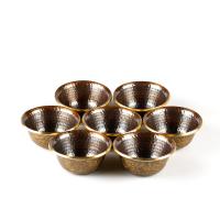 Чаши для подношений (набор из 7 шт.), 9 см, Непал.