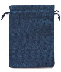 Мешочек на шнурке (13 x 18 см), синий.