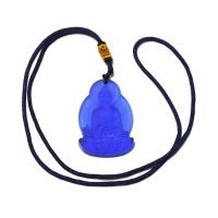 Подвеска на шнурке Будда медицины, 3,2 x 4,8 см.