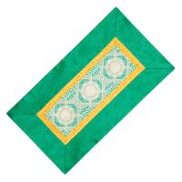 Алтарное покрывало Зеленое из натуральной вискозы, 84 x 45 см.