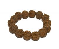Купить Браслет из рудракши на резинке в интернет-магазине Dharma.ru