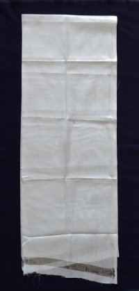 Хадак белый с Восемью Драгоценными Символами, 33 x 180 см.