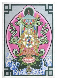 Купить Панно Аштамангала (43 x 61 см) в интернет-магазине Dharma.ru