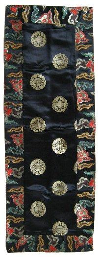 Купить Алтарное покрывало (черное), 37 x 104 см в интернет-магазине Dharma.ru