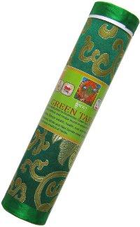 Благовоние Green Tara (Зеленая Тара), 21 палочка по 20 см.