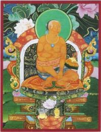 Открытка Чогял Намкхай Норбу (8.8 х 11.3 см).