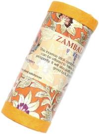 Купить Благовоние Zambala Incense (Дзамбала), примерно 27 палочек по 9,5 см в интернет-магазине Dharma.ru