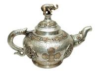 Чайник с нанесением серебра.