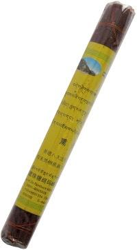 Купить Благовоние Подношение Будде Медицины (жёлтое), 25 палочек по 20 см в интернет-магазине Dharma.ru
