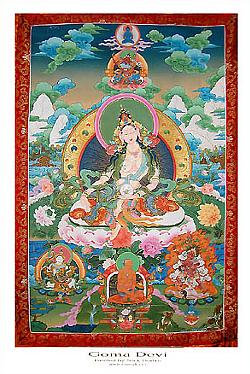 Плакат Гома Деви (29,5 х 42 см).