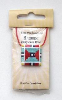 "Тибетский амулет-мандала ""Бумпа"" (Драгоценный сосуд)."