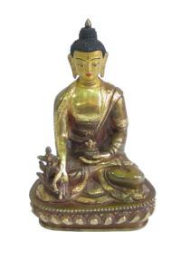 Статуэтка Будды Медицины, 15 см.