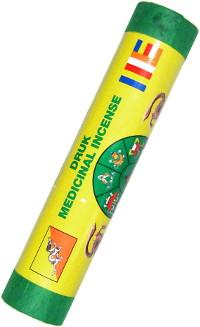 Благовоние Druk Medicinal Incense. Relaxense (Расслабление), 21 палочка по 19 см.