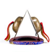 Цимбалы Ролмо для гневных божеств — диаметр 27,5 см.