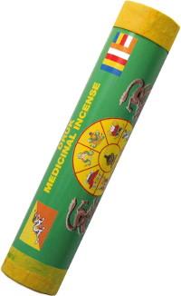 Благовоние Druk Medicinal Incense. Healing (Исцеление), 21 палочка по 19 см.